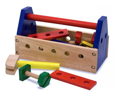 Ladita din lemn cu scule [1]