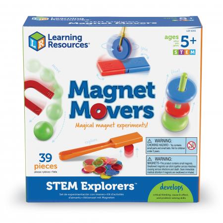 Experimente cu magneti - Magnet Movers1