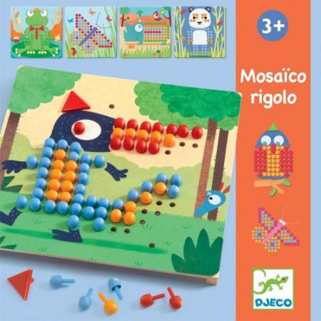 Mozaic rigolo - Joc cu piuneze1