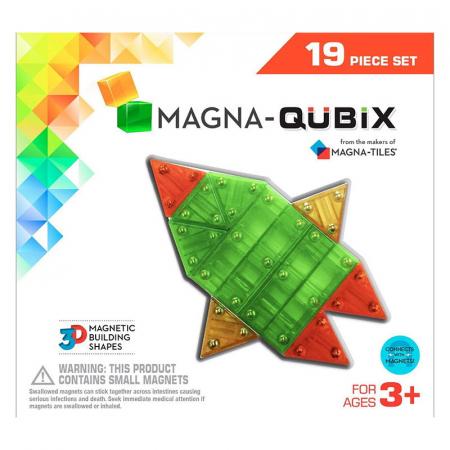 Magna-Qubix set magnetic 19 piese [0]