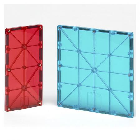 Magna-Tiles Extensie Dreptunghiuri - 8 piese2