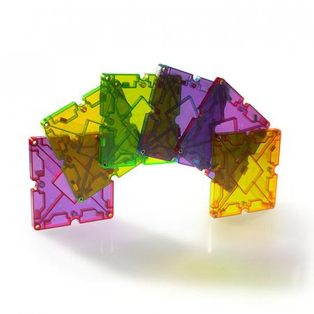 Magna-Tiles Freestyle cu magneti mobili - 40 piese3