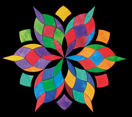 Mandala culorilor - puzzle magnetic [1]