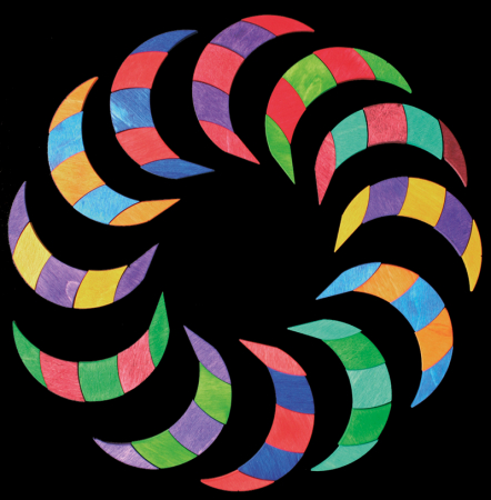 Mandala culorilor - puzzle magnetic [2]