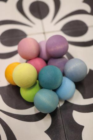 Margele pentru bebelusi pastel1
