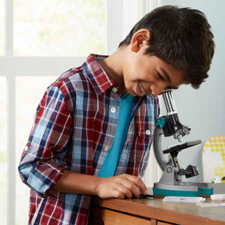 Microscop MicroPro 50x-600x - Set educativ cu 48 piese3