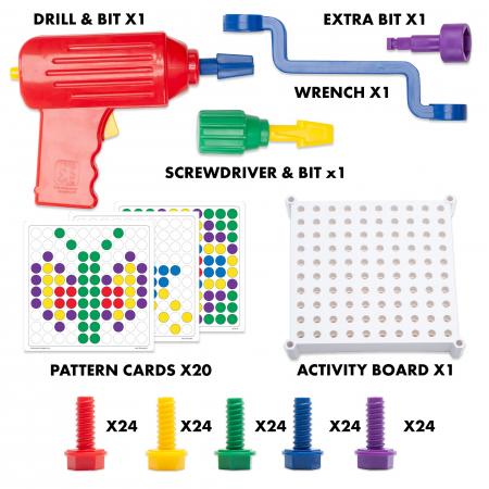 Micul meu atelier de indemanare - set educativ - Set creativitate si indemanare [3]