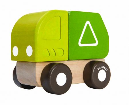 Mini camion de gunoi0