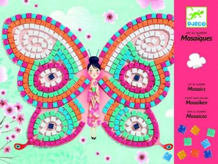 Mozaic cu fluturi - Set indemanare si creativitate [0]