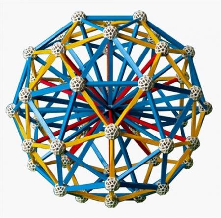 Set stiintific de constructie Zometool - Creator 33