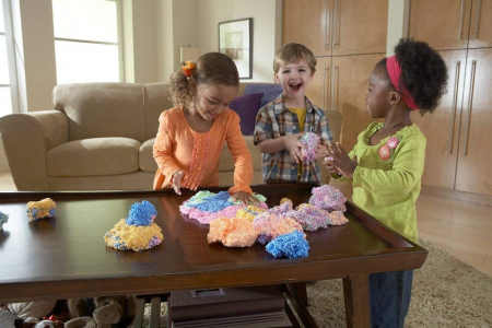 Playfoam - Spuma modelabila cu sclipici in 4 culori