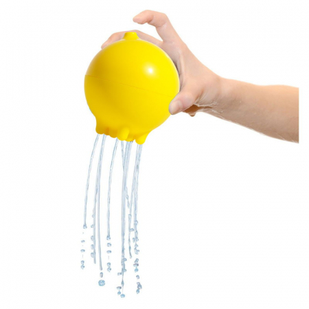 Plui Rainball Mingiuta senzoriala cu apa - galben1