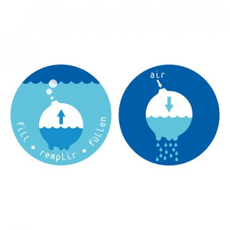 Plui Rainball Mingiuta senzoriala cu apa5