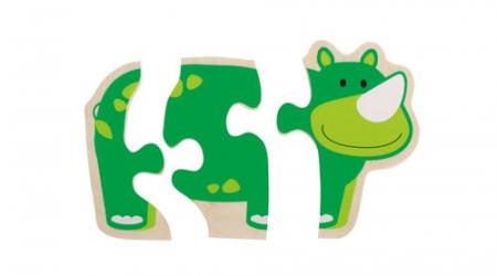 Primul meu puzzle Animale vesele [5]