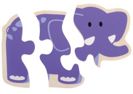 Primul meu puzzle Animale vesele [3]
