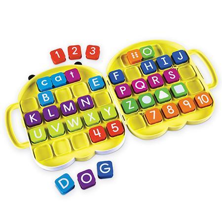 Alphabee - Set invatare litere si cifrele din mers1