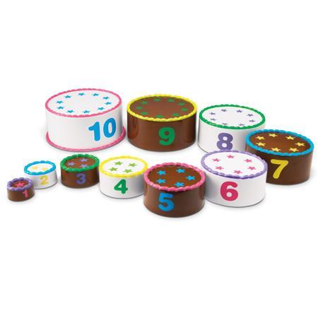 Aranjeaza si numara - set tort pe etaje2