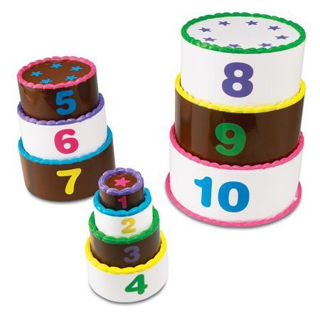 Aranjeaza si numara - set tort pe etaje0