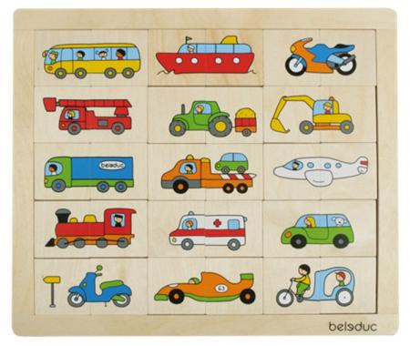 Puzzle Amesteca si potriveste Transport0