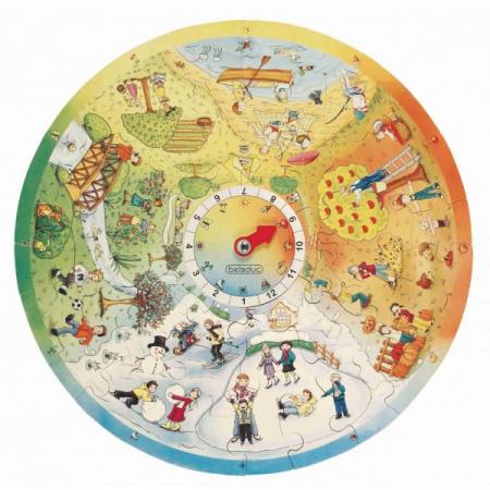 Puzzle circular Anotimpurile1