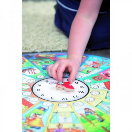 Puzzle circular Invata ceasul [1]