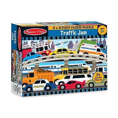 Puzzle de podea Blocaj in trafic0