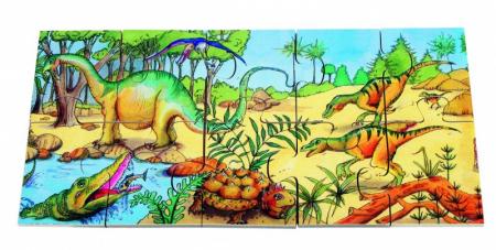 Puzzle de podea Dino1