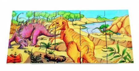 Puzzle de podea Dino3