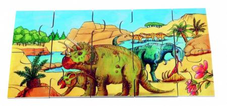 Puzzle de podea Dino2