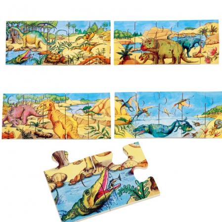 Puzzle de podea Dino6