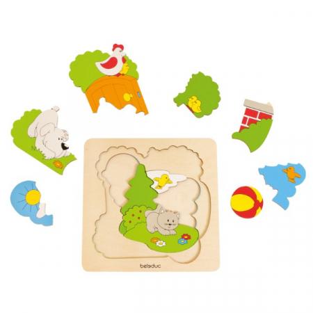 Puzzle Descopera Gradina2