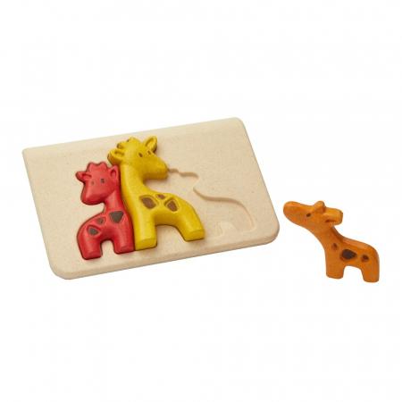 Puzzle din lemn cu girafe [0]