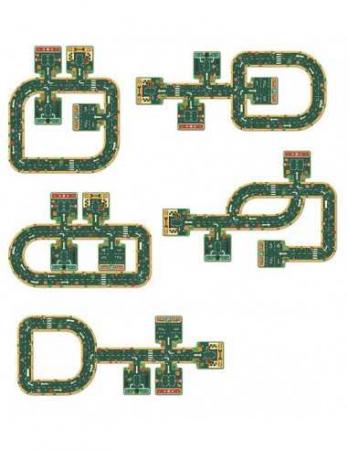 Puzzle gigant Drumuri - Traseu masinute [1]