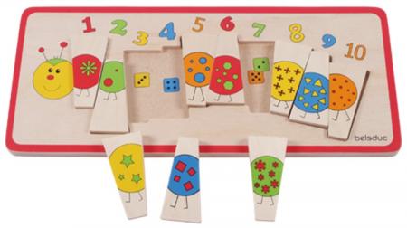 Puzzle lemn Omida cu Numere0
