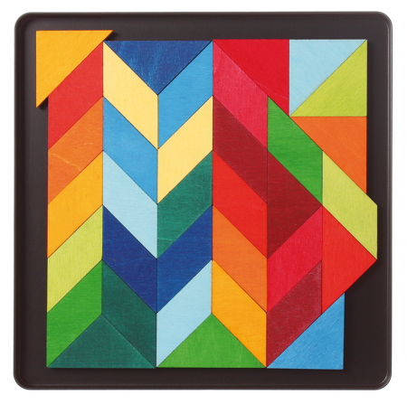 Puzzle magnetic Square Indian4