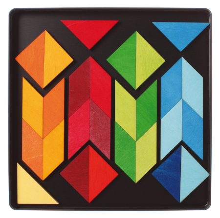 Puzzle magnetic Square Indian2