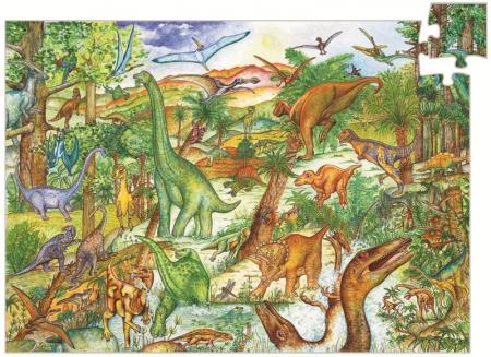 Puzzle observatie Dinozauri