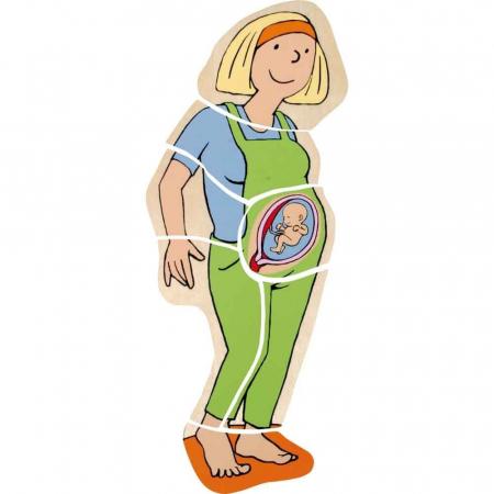 Puzzle stratificat Mama si Copilul4
