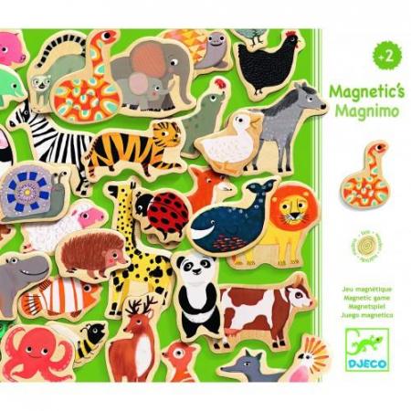 Joc magnetic cu animale - Multicolor1