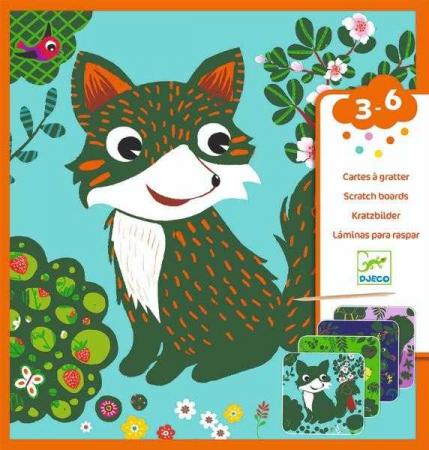 Set creativ de razuit - Animale prietenoase
