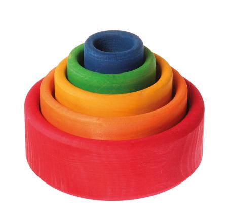 Set de boluri multicolor - SPIEL GUT0