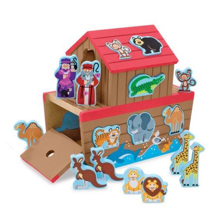 Set de joaca din lemn Arca lui Noe [3]