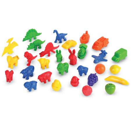 Set de sortare multicolor pentru incepatori (168 piese)0