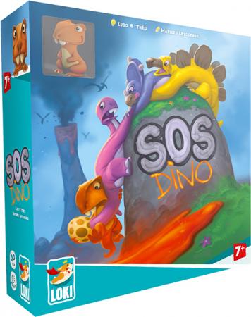 SOS Dino - Joc de societate