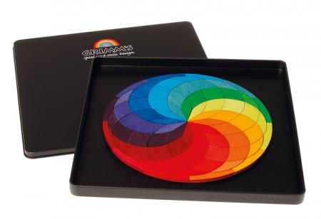 Spirala culorilor - puzzle magnetic1