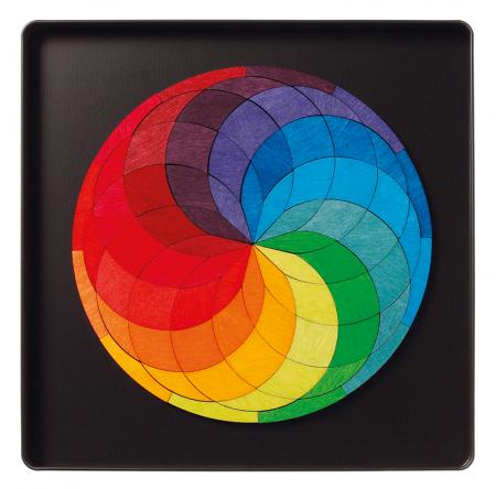 Spirala culorilor - puzzle magnetic0