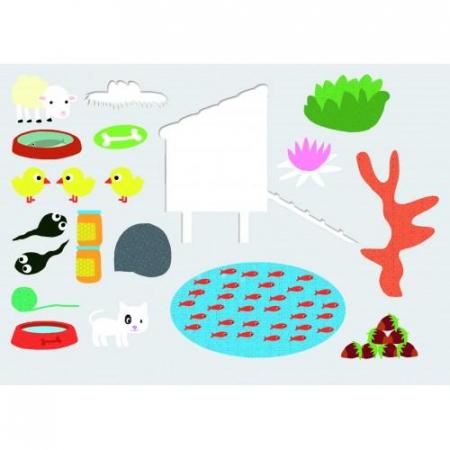 Edu-Stick - Stickere educative Culori3
