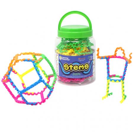 Stems - Set constructie cu piese - 60 piese