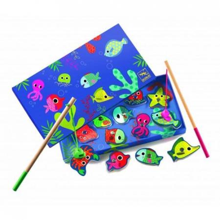 Joc de pescuit magnetic pesti colorati0
