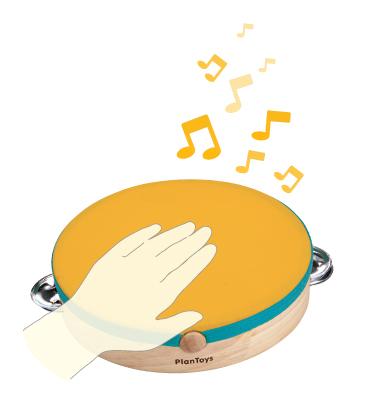 Tamburina - instrument muzical copii [0]